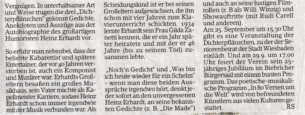 Heinz Erhardt Weihnachtsgedicht Offizielle Heinz Erhardt